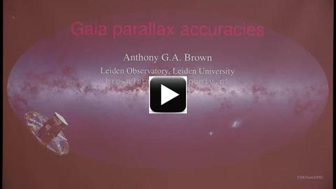 Anthony Brown (Leiden Obs ), Gaia I