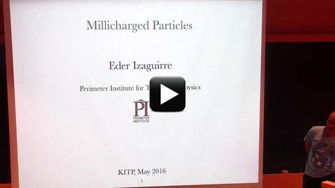 Eder Izaguirre (Perimeter Inst ), Christopher Hill (OSU